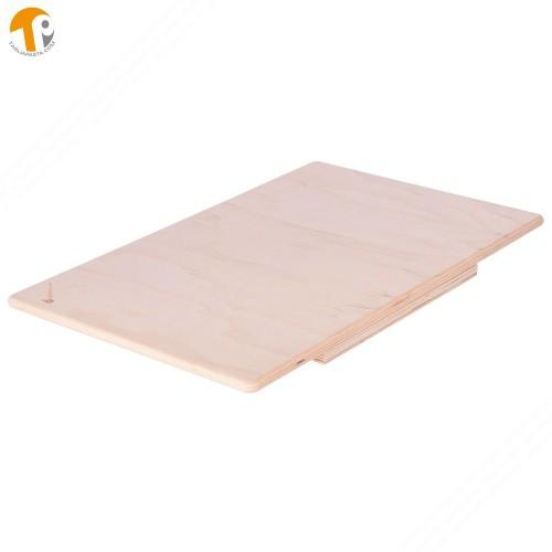 Asse da pasta in legno di betulla multistrato. Dimensioni: 75x50 cm
