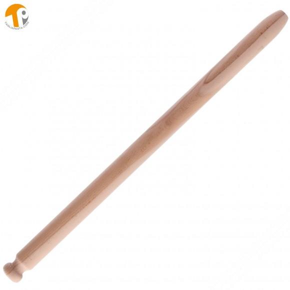 Mattarello professionale in legno di faggio per pasta fresca. Lungo 97 cm