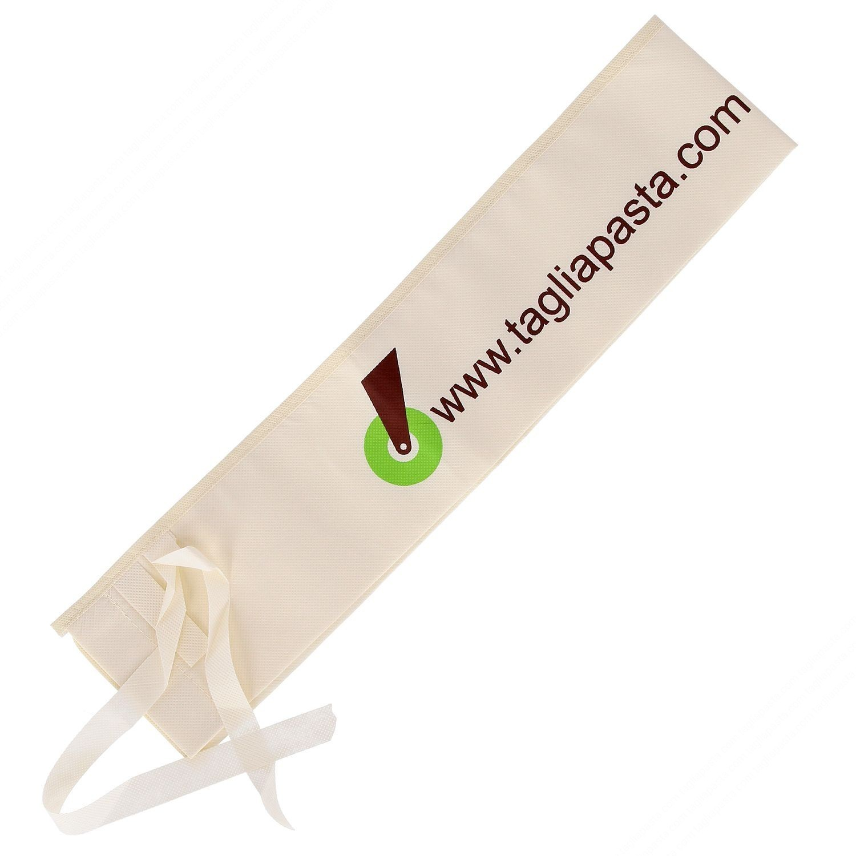 Custodia in tessuto lavabile per mattarello fino a 110 cm di lunghezza