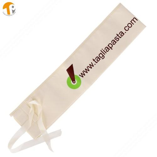 Custodia in tessuto lavabile per mattarello fino a 120 cm di lunghezza