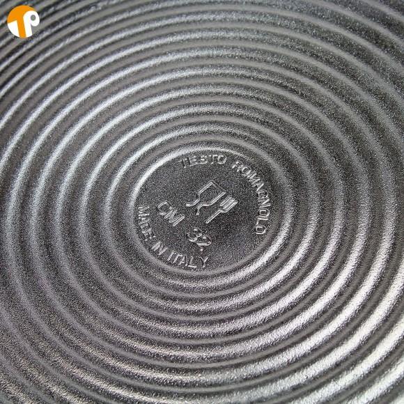 Testo romagnolo, Padella piatta per piadina romagnola, crepes o tortillas. Diametro 32cm