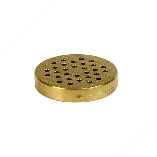 "Brass Die for Making Spaghettoni 3mm with ""Il Bigolaro"" Pasta Maker"