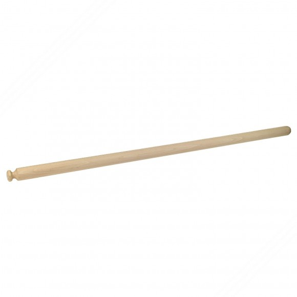 Professional rolling pin in beech tree wood for fresh homemade pasta. Length cm 120