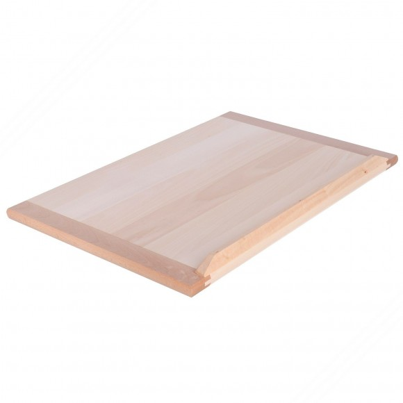 Lime Wood Pastry Board. Dimensions: 80x60x2 cm