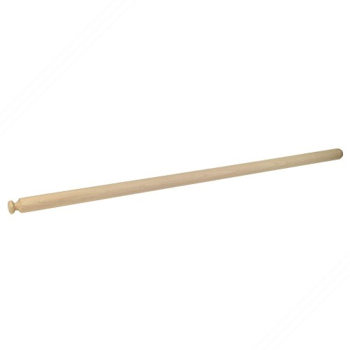 Professional rolling pin in beech tree wood for fresh homemade pasta. Length cm 110