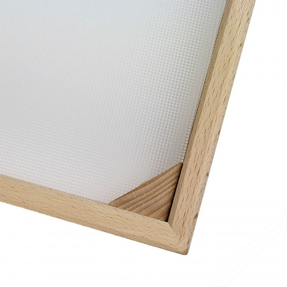Square Beech Wood Fresh Pasta Drying Tray. Measurements 50x50 cm