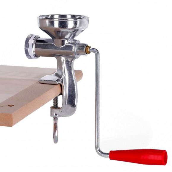 Manual press for making handmade fresh pasta at home
