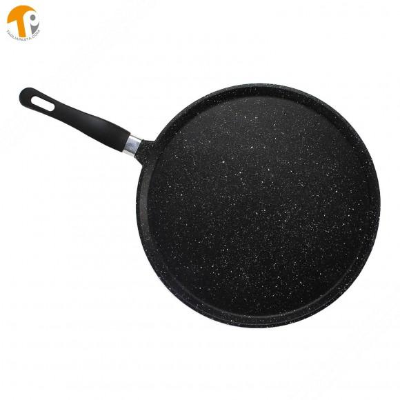 Testo romagnolo, Padella piatta per piadina romagnola, crepes o tortillas. Diametro 28 cm