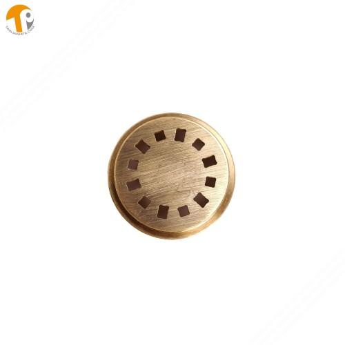 Trafila in ottone per creare spaghetti quadrati/rettangolari per torchio manuale TP-TO2021