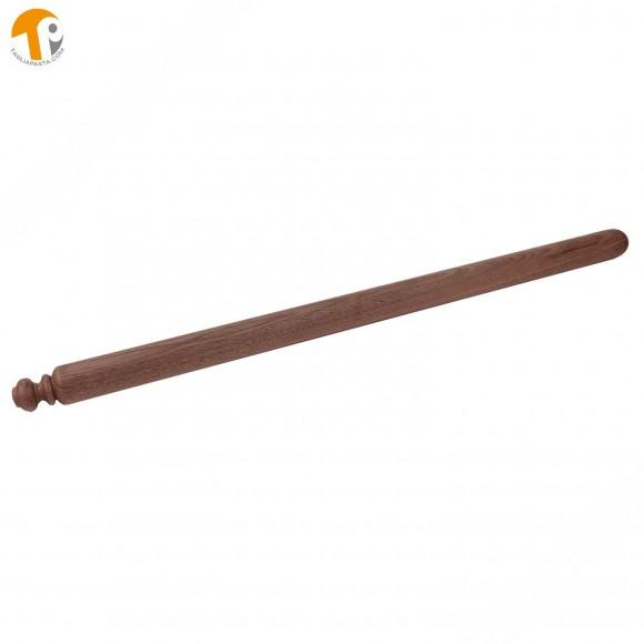 Mattarello in legno di noce per pasta fresca lungo 80 cm