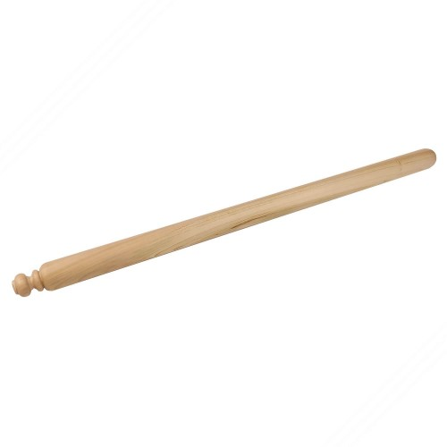 Rolling pin in cherry tree wood for fresh homemade pasta. 80 cm