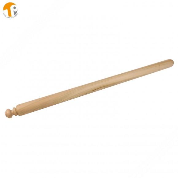 Mattarello in legno di ciliegio per pasta fresca. Lungo 80 cm