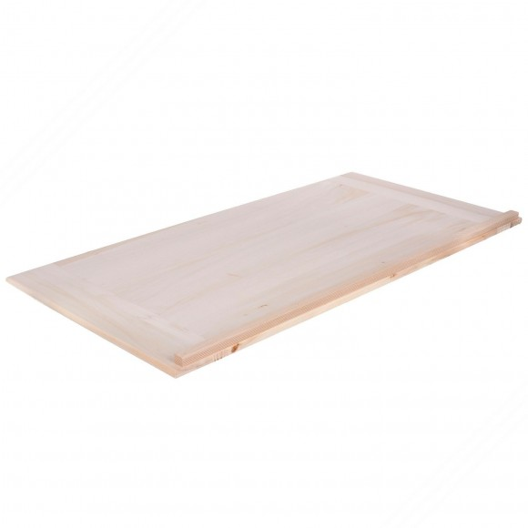 Poplar Wood Pastry Board. Dimensions: 70x54x2 cm
