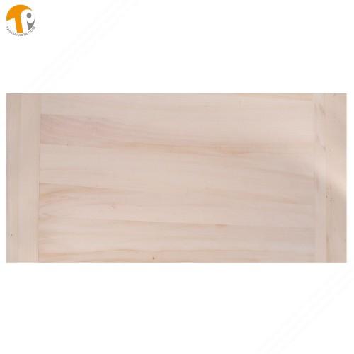 Poplar Wood Pastry Board. Dimensions: 80x60x2 cm