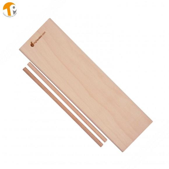Tagliere in legno doppio uso – rigagnocchi/garganelli e classico