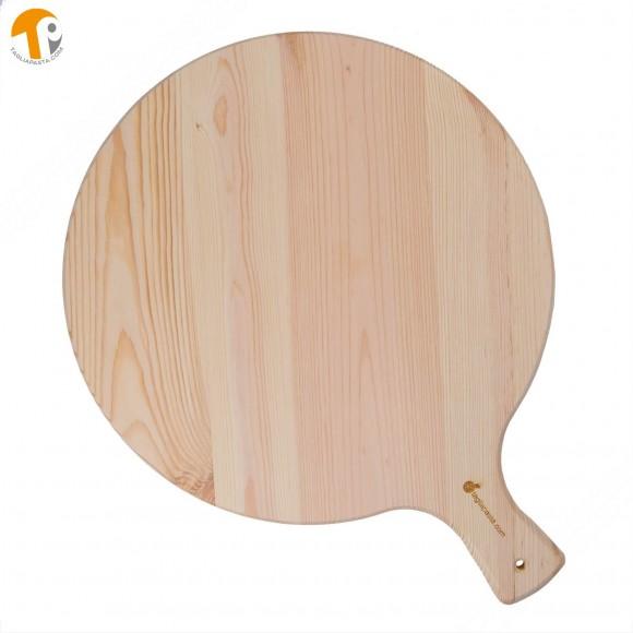 Tagliere rotondo in legno porta pizza