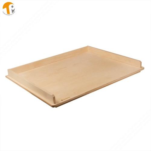 Pasta board with edge for orecchiette, gnocchi, cicatelli and torchietti
