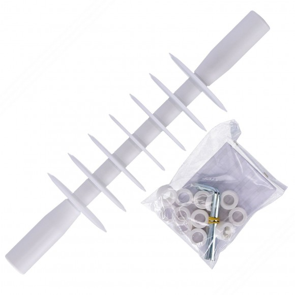Professional Rolling Pastry Cutter with 7 straight Blades in Food Safe POM Plastic