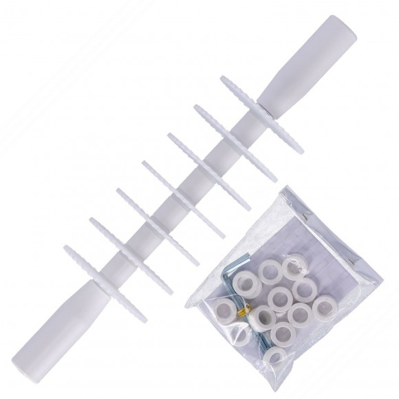 Professional Rolling Pastry Cutter with 7 Serrated Blades in Food Safe POM Plastic