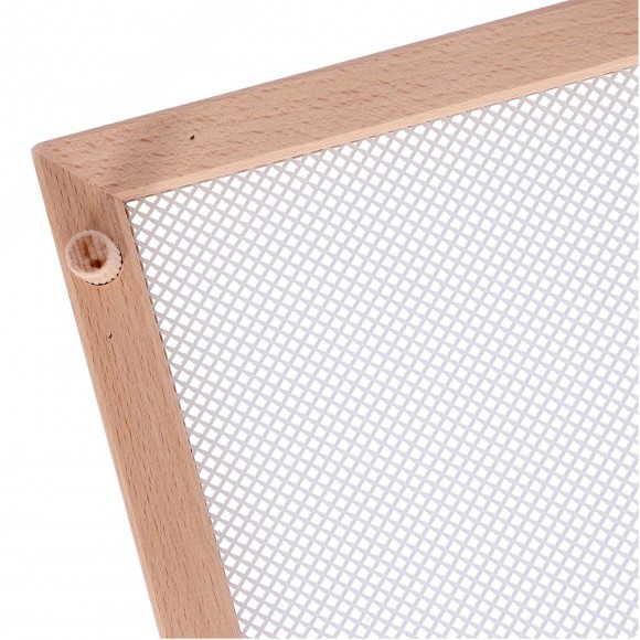 Rectangular Wooden Dryer Perfect to Dry Pasta, Vegetables and Spices. Dim. 50x40 cm
