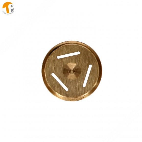 Trafila in ottone per pappardelle per torchietto manuale TP-MGOM40025T