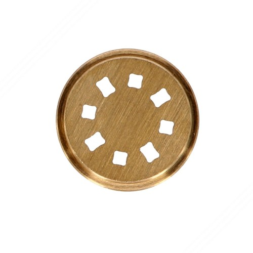Trafila in ottone per spaghetti quadrati per torchietto manuale TP-MGOM40025T
