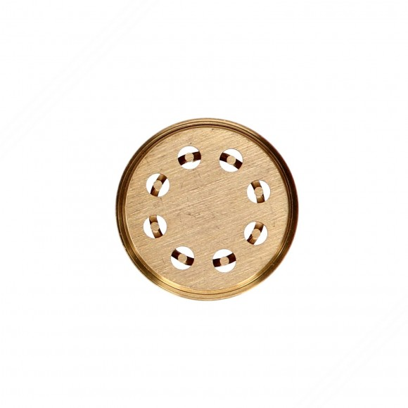 Bucatini brass die compatible for TP-MGOM40025T pasta extruder