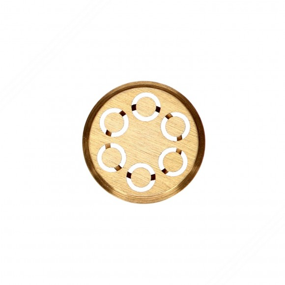 Maccheroni brass die compatible for TP-MGOM40025T pasta extruder