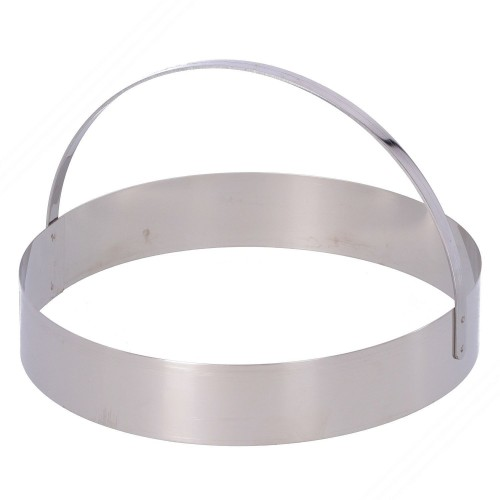Stainless Steel Piadina and Calzone Cutter. Diameter 22 cm