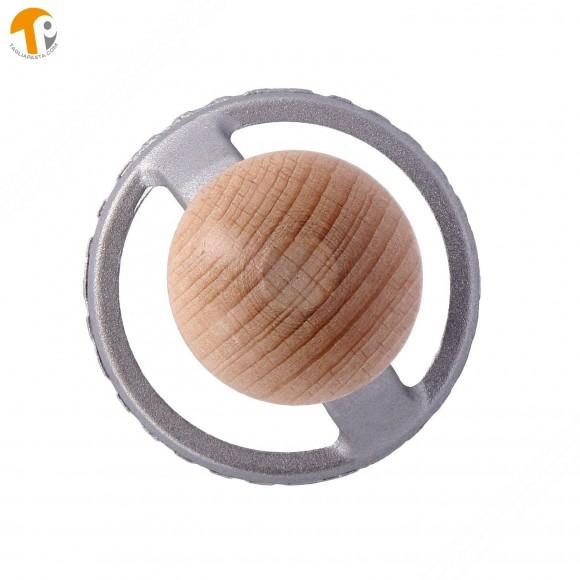 Stampo taglia ravioli in alluminio di forma tonda - Diametro 56 mm