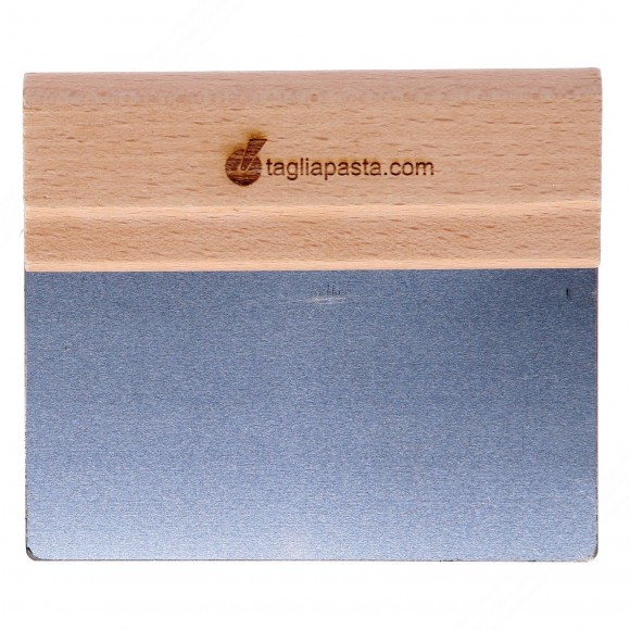 Spatula for Cleaning Boards with Steel Blade of 140 mm and Wood Handle