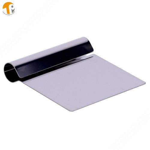 Spatola, completamente in acciaio, per pulizia tagliere con lama di 116 mm