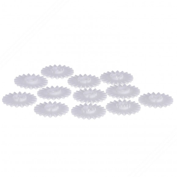 12 Spare Delrin fluted-edged blades for our pasta cutter