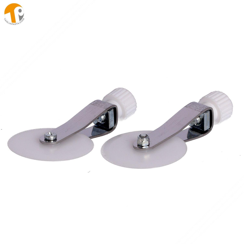 2 Pom Straight Spare Wheels
